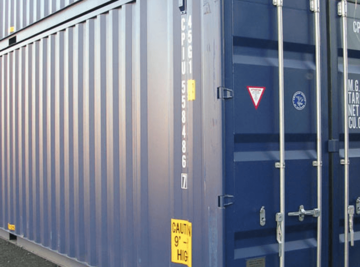 40` feet High Cube containers
